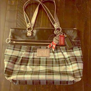 Authentic Tartan Coach Bag